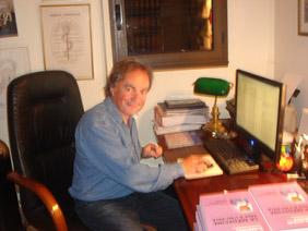L'écrivain à son bureau