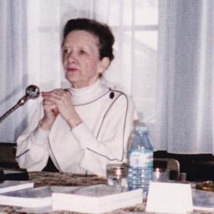 Jeanne Morrannier en conférence